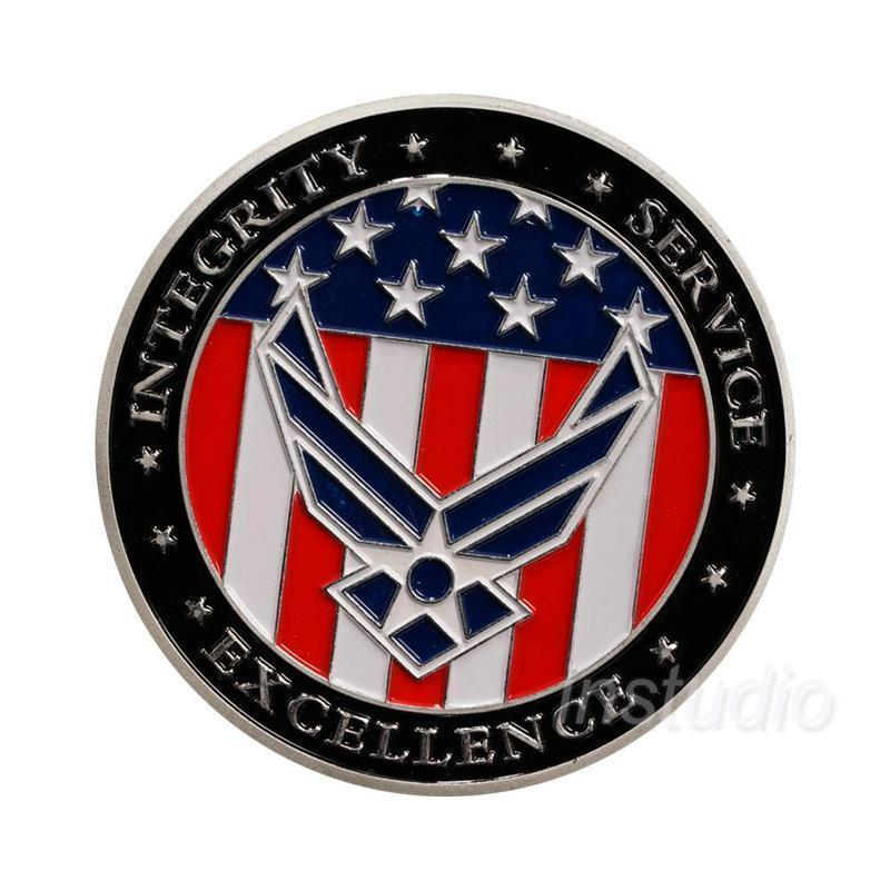 Primary image for U.S. Air Force Oath of Enlistment Coin Motivational Navy Army Coins Souvenir
