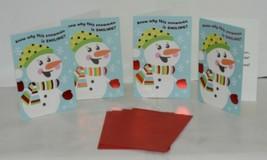 Hallmark XV 600 1 Smiling Snowman Christmas Card Package 4 image 1