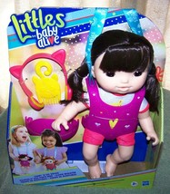 "Littles by Baby Alive Carry ""n Go Squad LITTLE IRIS 9""H Asian Doll New - $24.26"
