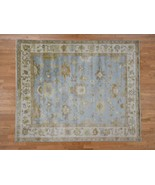 """8'4""""x9'10"""" 100 Percent Wool Oushak Hand Knotted Oriental Rug G41448 - $697.48"""