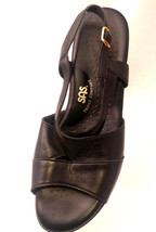 SAS Tripad Comfort Womens 11M Black Open Toe Sandal Buckle USA - $32.96
