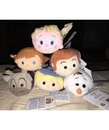 Disney FROZEN Mini Tsum Tsum  Plush Set Anna Elsa Olaf Sven Kristoff Han... - $24.74