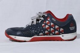 "Reebok Crossfit CF74 Women's Athletic Training Running Shoes ""USA Flag"" US 8 - $41.72"
