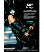KISS Paul Stanley 24 x 36 Custom Ibanez PS10 Poster - Guitars Classic Ro... - $50.00