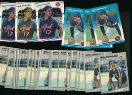 1987 1988 1989 Fleer Keith Hernandez Mets  Lot of 29 - $2.77