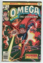 Omega the Unknown #5 Bronze Age Collectible Comic Book 1976 MARVEL Comics! - $1.59