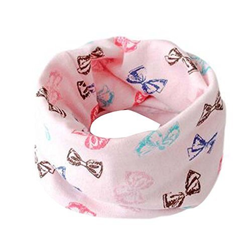 2PCS Colorful Cartoon Children Warm Scarves Neckerchiefs Wonderful Gift for Baby