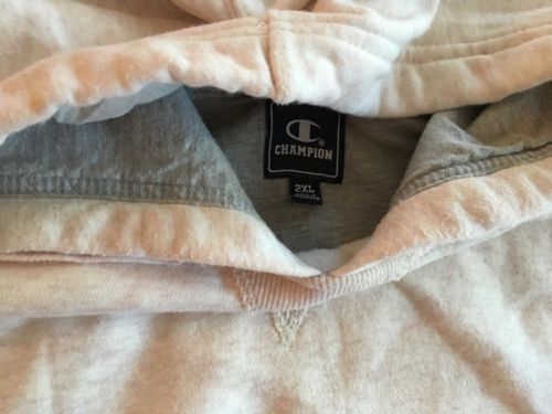 Champion Hoodie XXL Light Salmon Color