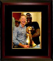 Steve Kerr signed Golden State Warriors 8x10 Photo Custom Framed (Holdin... - $116.95