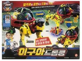 Hello Carbot Igua Drop Koong Iguanodon Transformation Action Figure Robot Toy