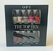 OPI The Top Ten Collection 3.75ML Each *NEW* - $24.70