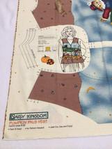 NEW Daisy Kingdom Pumpkin Pals Cut & Sew Vest Panel Pattern Adult 8 - 22 S M L X - $6.29