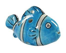 Musical Instrument Ocarina for Child/Fish Ocarina, 6 Holes/Blue