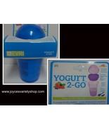 Everi Yogurt 2 Go Travel Container NWT BPA Free 3 Compartments Blue 18.7 oz - $9.99