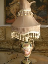 Magnificent Porcelain Sevres style Antique Lamp directly out of an Estat... - $450.00