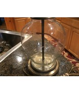 Princess House  Heritage Crystal/Brass lamp - $94.00