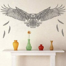 ZOOYOO® Creative Eagle Hawk Wall Stickers For Kids Rooms Bedroom Home De... - $4.68