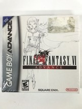Final Fantasy VI Advance Nintendo Game Boy Advance,2007 NEW FACTORY SEAL... - $108.90