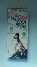 Word Master Mind Vintage Code Breaking Game by Invicta LIKE NEW FREE SHI... - $18.97