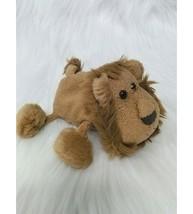 "6"" Russ Luv Pets Lion Zimba Brown Tan Mini Beanbag Chamois Plush Toy Ber... - $9.97"