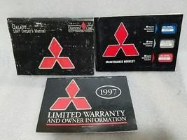 GALANT    1997 Owners Manual Set 16439 - $13.85