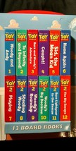 2009 kids Walt Disney Pixar Toy Story Book Block 12 little reading stori... - $14.97