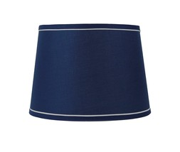 "Urbanest 12"" French Drum With White Trim Lampshade - $39.99"