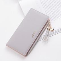 2019 Tassel Wallet Women Long Cute Wallet Leather Tassel Women Wallets Z... - £13.48 GBP