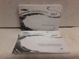 2017 Chevrolet Express owners manual - $49.49