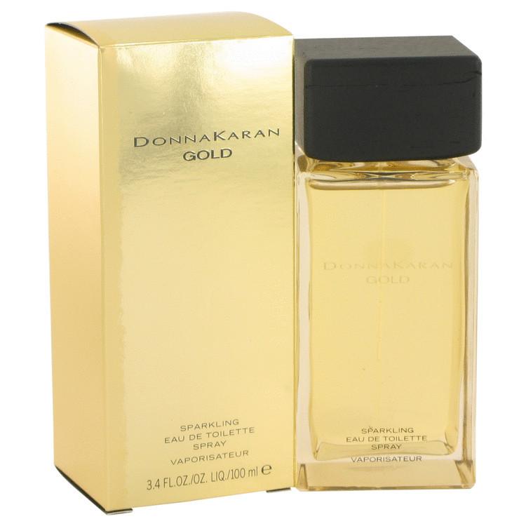 Donna karan gold sparkling 3.4 oz edt perfume