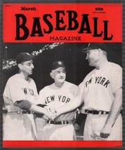 Baseball Magazine 3/1950-Casey Stenngal-Johnny Mize-Henrich-MLB-pix-info-FN - $54.56
