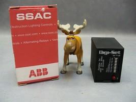Time Delay Relay TDS120AL Abb 120VAC Digi-Set Ssac - $65.18