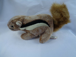 "TY 1999 Chipper The Chipmunk Beanie Baby 7"" Long image 1"