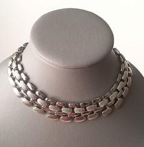 Melania Trump Jewelry Textured+Polished Silver ... - $42.08