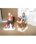 Dept 56 Heritage Village Collection Cobbler & Clock Peddler #5839-4 - $9.99