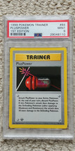 Pokemon PlusPower 84/102 1st Edition Base Set PSA 9 1999 Pokemon Game Shadowless - $44.99
