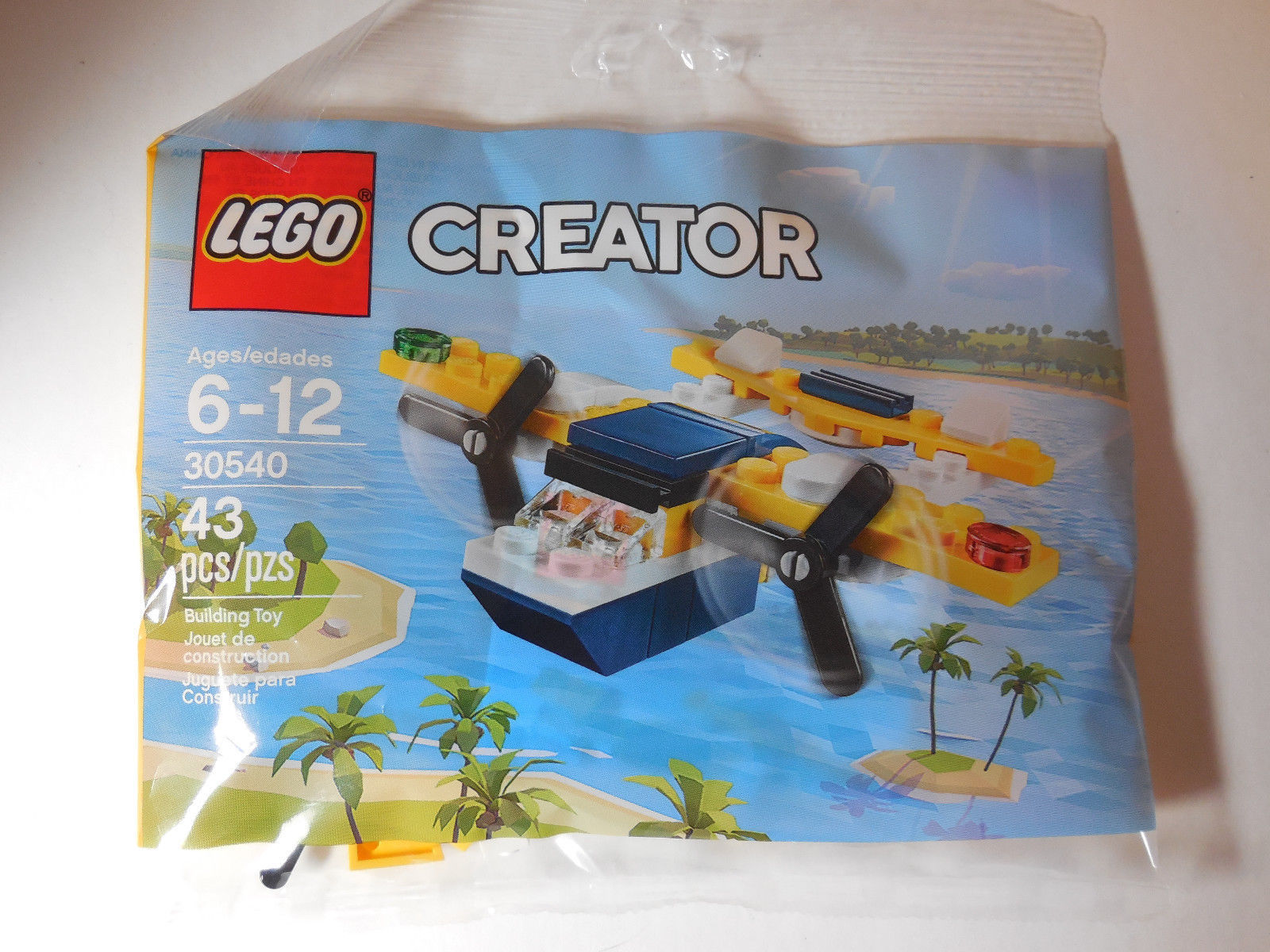 Lego Creator 30540 Yellow Flyer Polybag 43 Pcs [New Polybag]