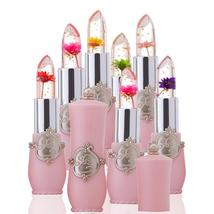 New Long Lasting Moisturizer Transparents Flower Lipstick Cosmetics Wate... - $4.18