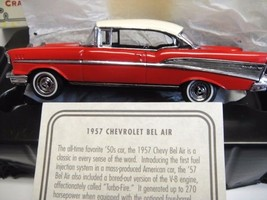 Matchbox Collectibles 1957 Chevrolet Bel Air  Brand New in Box Certificate - $58.50