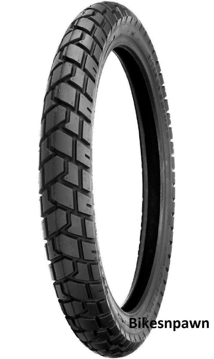 New 110/80-19 TL Shinko 705 Series Dual Sport Front Motorcycle Tire 59Q