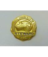 1960 International Kennel Club of Chicago Dog Show Steward Gold Tone Pin... - $19.79