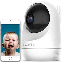GevTa Baby Monitor, 1080P FHD Home WiFi Security Baby Camera Sound/Motion Detect