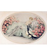 Louis ICart Art Deco La Belle Rose hosiery semi nude  5 x 7  photo print - $1.84