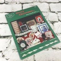 Merry Christmas From Cross My Heart Cross-Stitch Pattern Booklet Vintage... - $9.89
