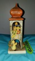 Goebel MJ Hummel Signature Clock Tower Whitsuntide Figurine 163  W. Germany - $69.29