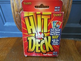 Hit the Deck Card Game 2001 Fast Paced Game Ages 6+ 2 to 6 Players Complete - $9.74
