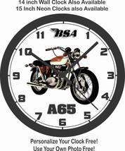 1971 BSA A65 MOTORCYCLE WALL CLOCK-FREE USA SHIP! - $30.68+