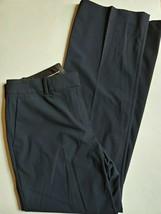 Ann Taylor Curvy Fit Dress Pants Womens Size 10 Navy Blue Straight Leg S... - $21.78
