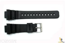 16mm Fits CASIO DW-5600E G-Shock Black PVC Watch BAND Strap - $8.50