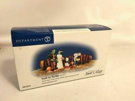 Dept 56 Halloween Snow Village Treats For The Kids Vintage Set - $29.69
